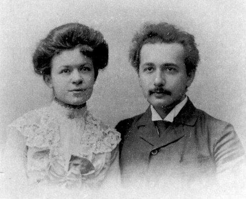 Las esposas de Einstein genio de la física